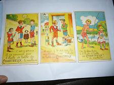 illustrateur M Cladé Huile de Table des Chartreux WILLEMS