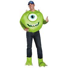 Mike Wazowski Costume Adult Monsters Inc Halloween Fancy Dress