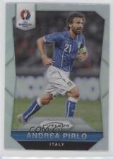 2016 Panini Prizm UEFA Euro Silver Prizms #86 Andrea Pirlo Italy Soccer Card