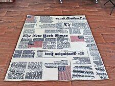 Teppich New York Times Modernes Design 4Größen 67x135 80x150 120x170 160x220 cm