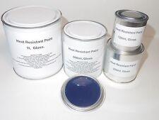 Navy Blue Heat Resist Paint, Gloss Brake Caliper Engine Metal Body Steel