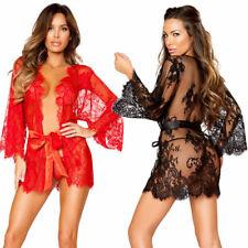 UK Sexy Ladies Lingerie Sleepwear Women Babydoll G-string Underwear Night Dress