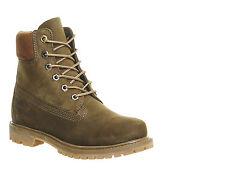 Chaussures femme timberland 6 premium bottes olive foncé nubuck bottes