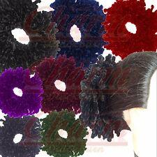 Khaleeji Velvet Hijab Hair Scrunchie Big Tie Bun Volumising Scarf Volume Bobble