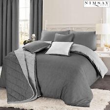 Christian Geometric Reversible Soft Cotton Rich Quilt Duvet Cover Bedding Set