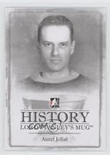 2013 In the Game Lord Stanley's Mug History of #HLSM-10 Aurel Joliat Aurele Card