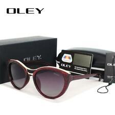OLEY High Quality Cat Eye Sunglasses Women brand designer Polarized Sun Glasses