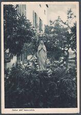 GENOVA CITTÀ 213 SAN MARTINO DI ALBARO - COLLEGIO - SCUOLA Cartolina