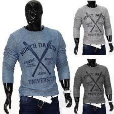 Herren Kapuzenpullover Hoodie Pullover Contrast Sweatshirt College Sweatjacke