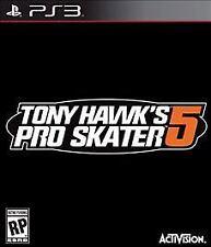 PS3 ACTION-TONY HAWK PRO SKATER 5  PS3 NEW