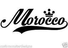 Morocco ... Morocco Vinyl Wall Art Quote Decor Words Decals Sticker