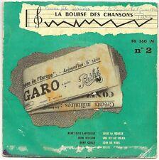 BOURSE CHANSONS N°2 45T EP LAFFORGUE WILLIAM GOULD VAUCAIRE Julie Rousse PATHE
