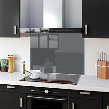 Vetro Splashback Vetro Temperato Cucina pannelli sfumature di grigio gray qualsiasi taglia e colore a scelta