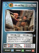 Star Trek CCG  Deep Space Nine   Individual Trading Cards