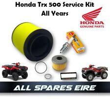 GENUINE HONDA TRX 500 FOREMAN QUAD/ATV SERVICE KIT 2001-2018 INC FILTERS & PLUG