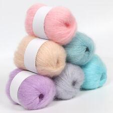 Delicate Shawl Fine Scarf Clothing Crochet Wool Yarn Knitting Angola Mohair