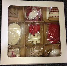 Gift tag MYO label kit set John Lewis toppers embellishments beads pegs pompoms