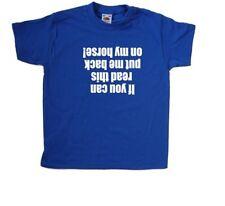 Put me back on my horse Kids T-Shirt