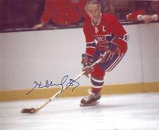 Henri RICHARD Signed Montreal CANADIENS 8x10 Photo 3