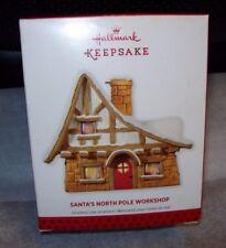 HALLMARK 2013 CHRISTMAS TREE ORNAMENT SANTA'S NORTH POLE WORKSHOP NEW IN BOX
