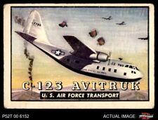 1952 Topps Wings #48 C-123 Avitruk GOOD