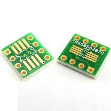 SOP8 SO8 SOIC 8 TSSOP 8 MSOP 8 To DIP8 PCB Adaptateur conveter Board or plaque