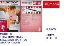 REGGISENO TRIUMPH ART. TRIACTION FITNESS SPORTIVO APERTO AVANTI