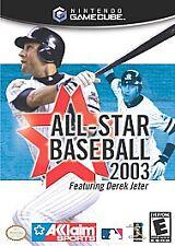 All-Star Baseball 2003  (Nintendo GameCube, 2002) BRAND NEW