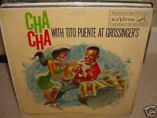 Tito Puente - Cha Cha At Grossinger's - Rare LP Excellent Conditions - L6