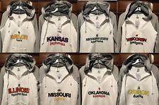 New $45 NCAA Women's Light Hoodie Collegiate Ladies Hooded Sweatshirt White Grey
