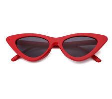 New Design Cat Eye Womens Sunglasses Glasses Tent Lenses with Rivet UV400