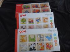 Memory-Spiel für Kinder, Holz, 32 Teile