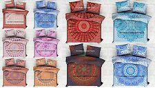Indian Duvet Doona Cover Comforter Mandala Hippie Blanket Queen Quilt Cover Set