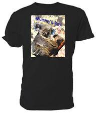 Mummy's Boy Koala T shirt, WILDLIFE - Choice of size & colour!