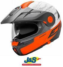 Schuberth e1 Motorradhelm Abenteuer Flip Vorne Modular Crossfire orange j&s
