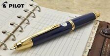 Pilot NAMIKI Capless Vanishing Point Fountain Pen Dark Blue 18K New Japan F / M