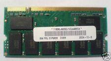 Memoire 256 mo IBM TP G41/R50/R51/T41/T42/X32/X40 /N24