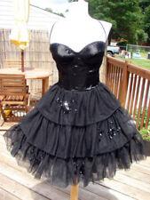 NWT BETSEY JOHNSON HOLLYWOOD HILLS BACKLESS CORSET DRESS~6