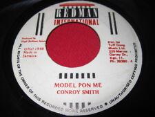 CONROY SMITH 45 - MODEL PON ME - RARE REGGAE JAMAICA