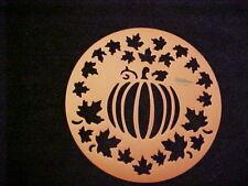 Wilton Cake Stencil Fall Pumpkin Stencil Template