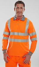 warnschutz manches longues orange S S-3XL warnshirt Pull sweat ALERTE ORANGE