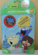 Educational Leap Frog Activity Storybook Golden Paddleball Tag Reading