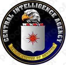 STICKER ALL UNITED STATES CIA NEW