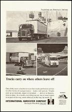 1962 Vintage ad for International Harvester Trucks  (063012)