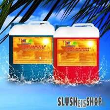 Slush Eis Sirup 2 x 5 Liter Konzentrat, Slushsirup 5 L Kanister Slushy Maschine