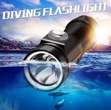 Underwater 80m 10000 LM XM-L2 LED Scuba Diving Flashlight Waterproof Torch Lamp