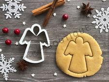 Angel Cookie Cutter 05 | Christmas | Fondant Cake Decorating | UK Seller