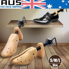 2-Way Wooden Shoes Stretcher Expander Shoe Tree Unisex Bunion Plugs