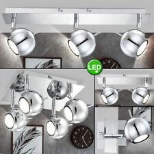 Retro LED Chrom Decken Lampe purple Schlaf Zimmer Kugel Spot Leuchte verstellbar