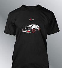 Tee shirt personnalise 911 carrera S M L XL XXL homme flat 6 car line